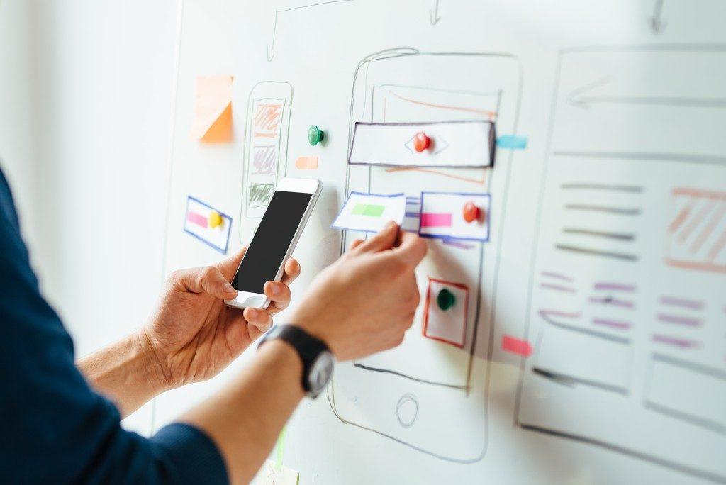 man web designing