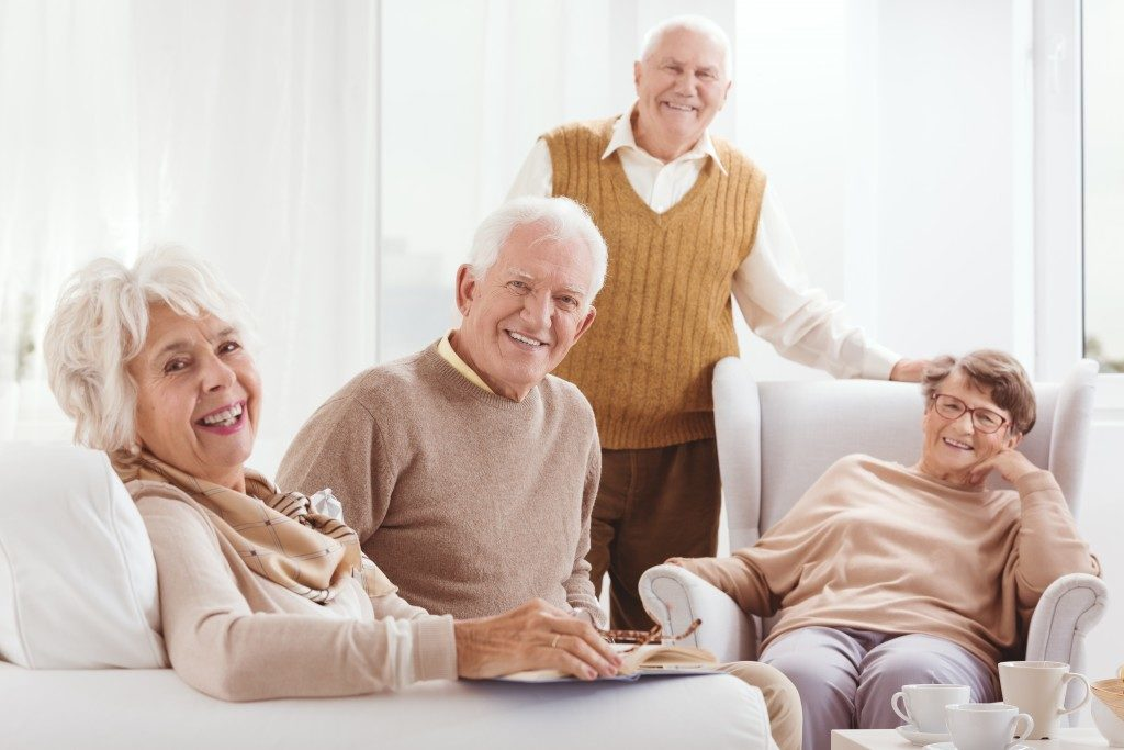 happy old people