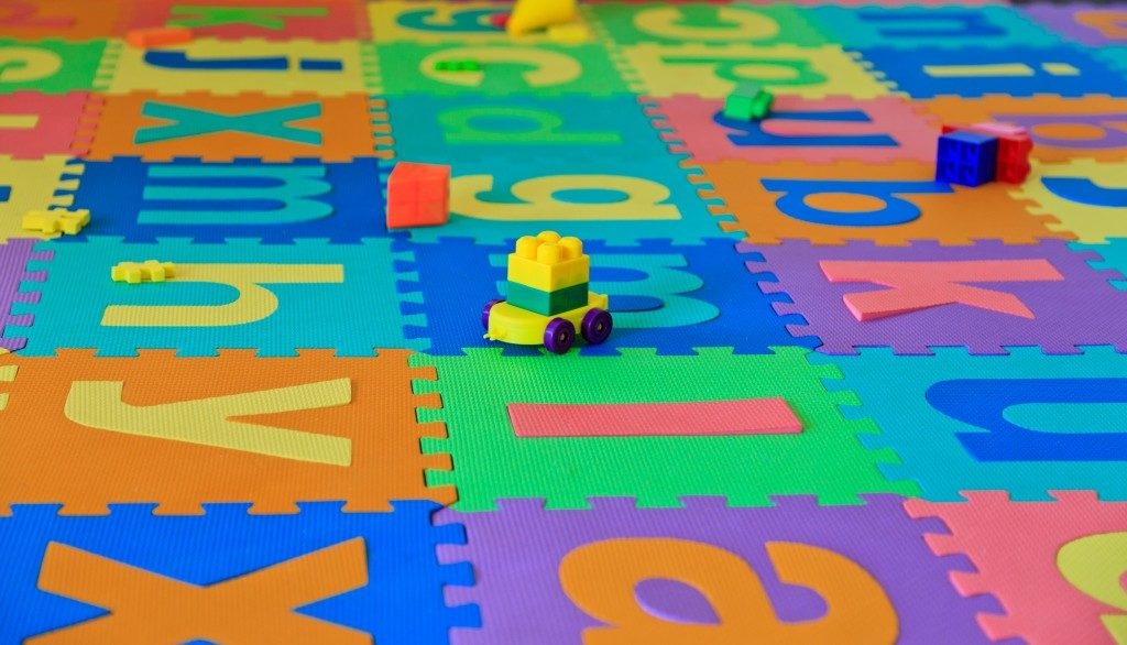 Paly mat for kids room