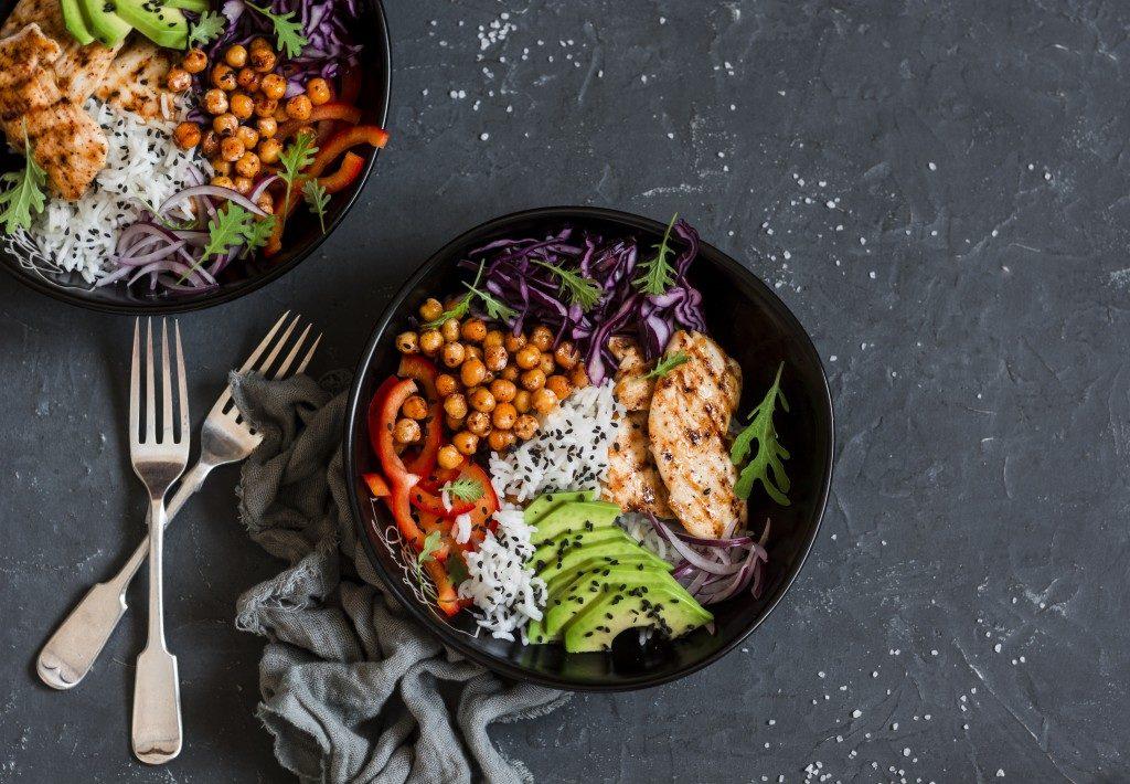 Trendy diet food