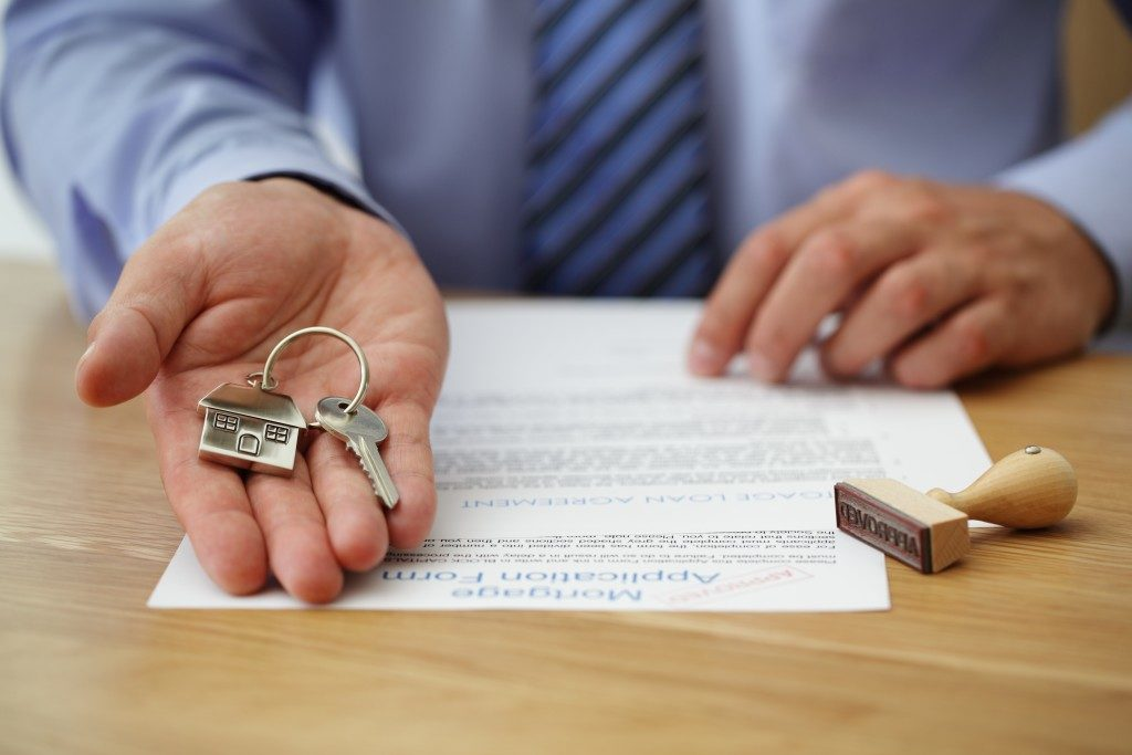 keys from approved loan