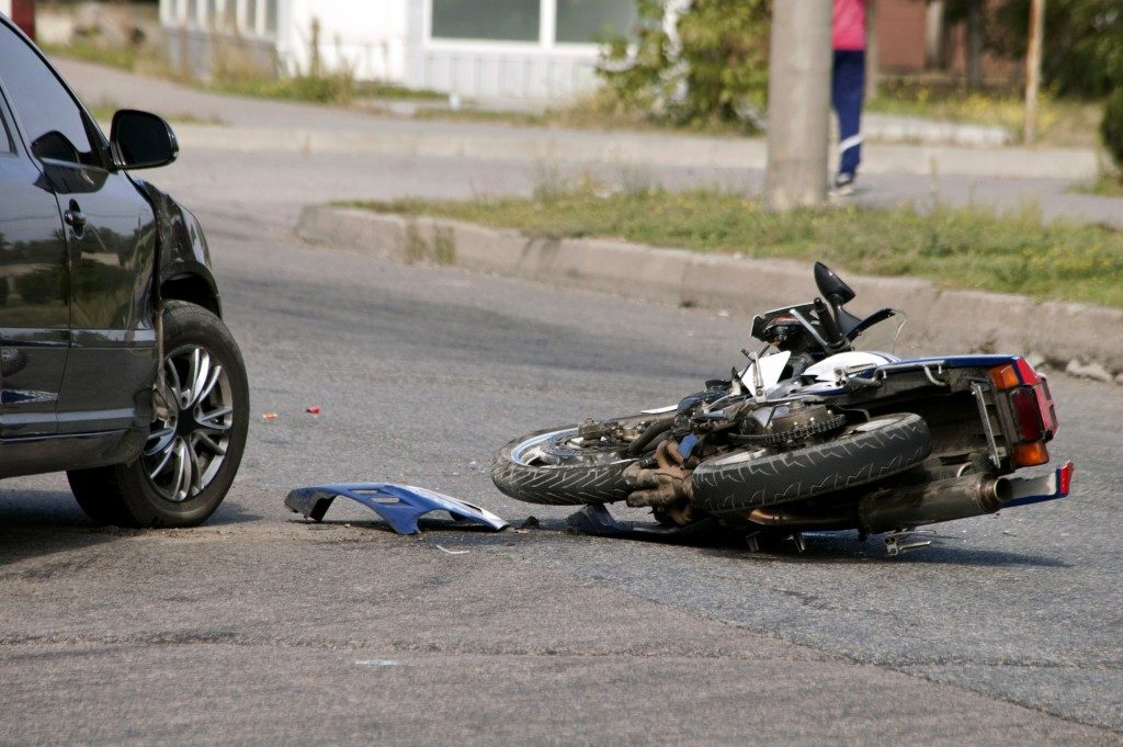 Motorcycle acident