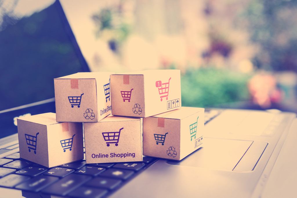 online shopping packages
